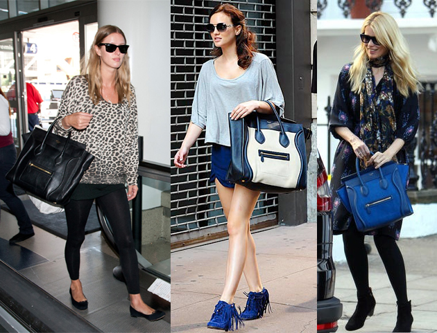 celine_luggage celebrities